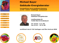Gebäude-Energieberater Michael Bayer